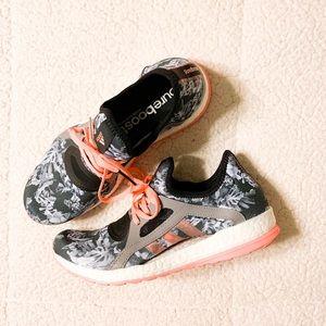 Adidas Pureboost X Running Shoe-Black and White
